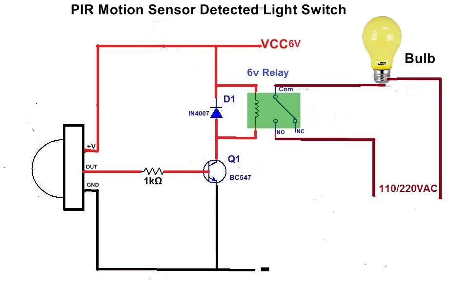 Motion Sensor Light Switch Wiring Diagram For Your Needs