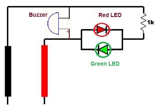 Polarity Tester Electronic Circuit