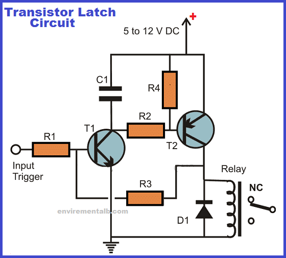 Transistor Latch Circuit