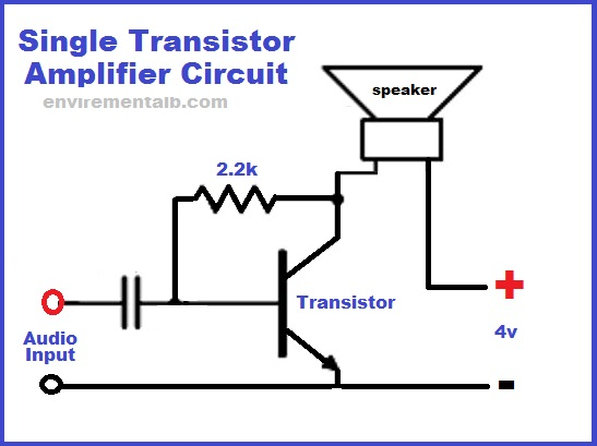 single transistor amplifier