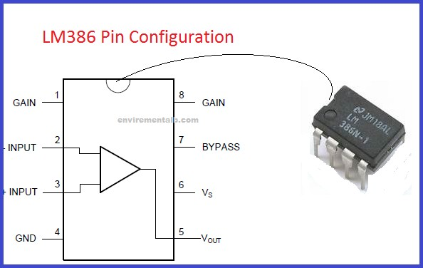 lm386-pin-configuration