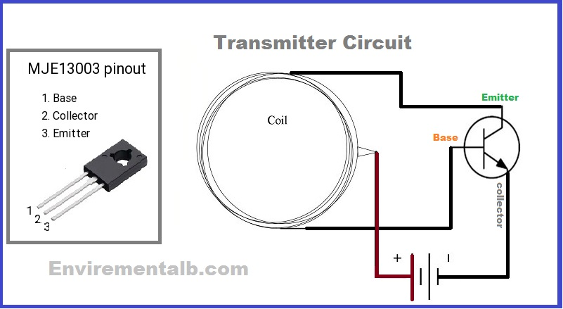 Wireless Power Transfer Circuit With Its Working | Envirementalb com