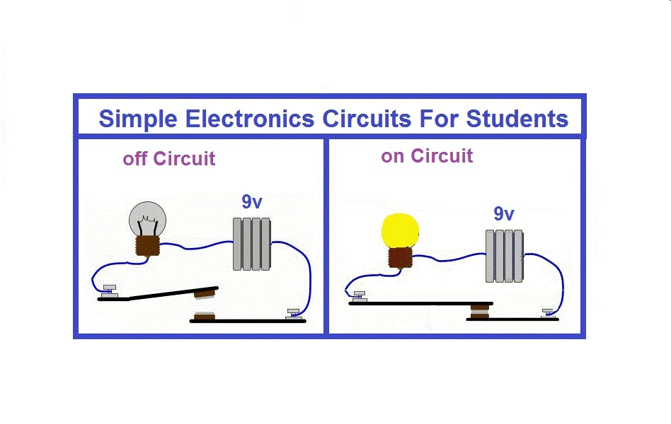 Simple Electronics Projects for students | Envirementalb com
