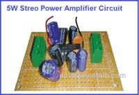 5W stero Amplifier Circuit