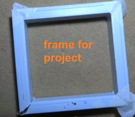 infinity mirror frame