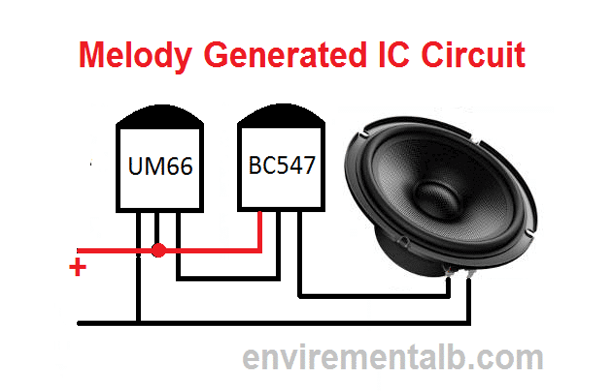 Melody Generator circuit