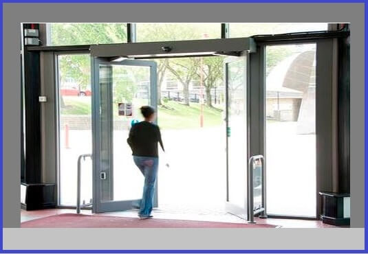 Automatic Door Opening System Circuit