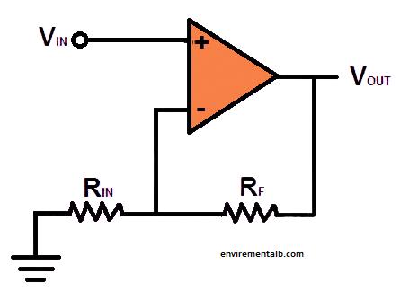 non inverting op amplifer
