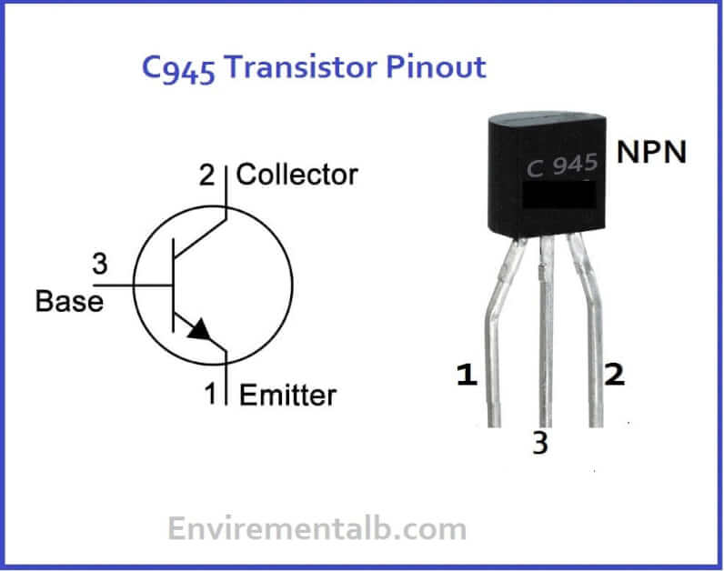 C945 Transistor Pinout, Equivalent, Features & Applications