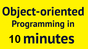 objects oriented programmings