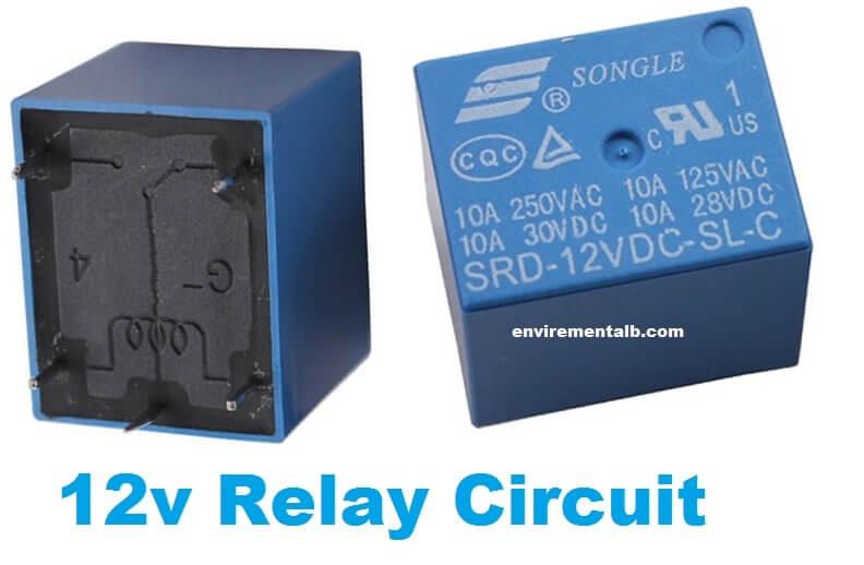 12v Relay Circuit Diagram