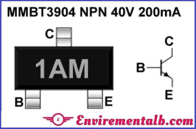 2N3904 SMD transistor