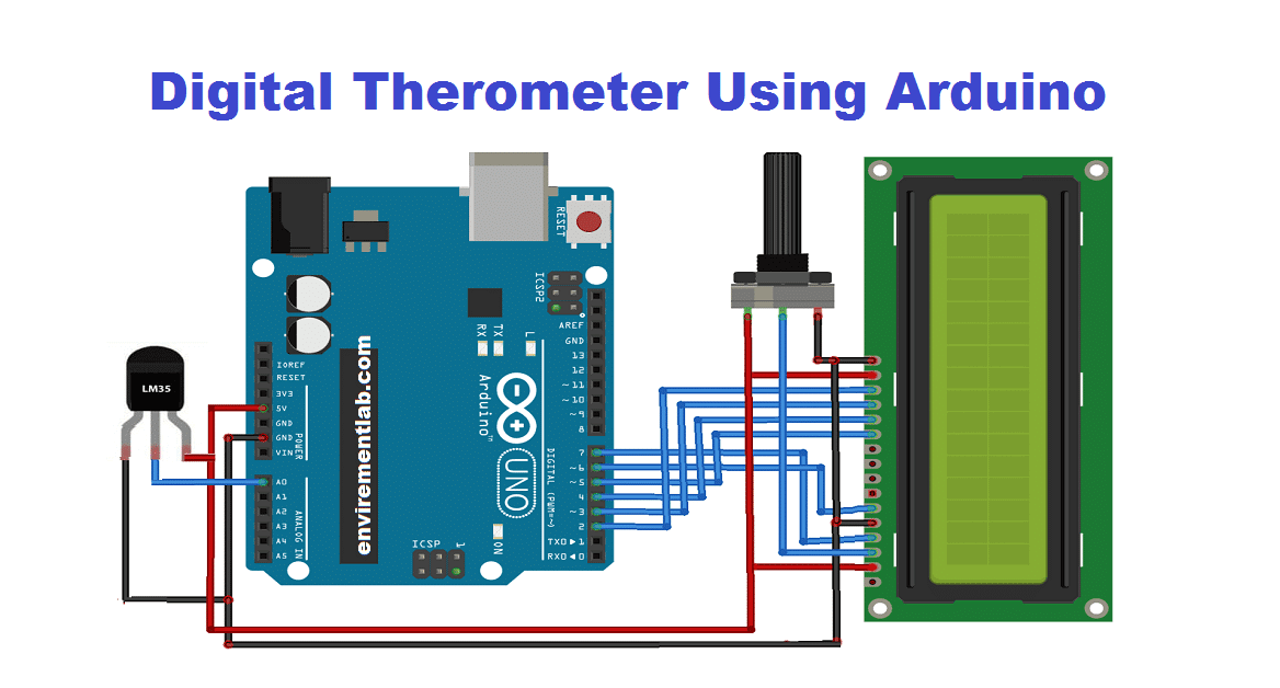 Arduino-Thermometer-Circuit-using-lm35