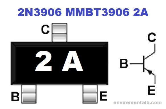 SMD OF 2N3906