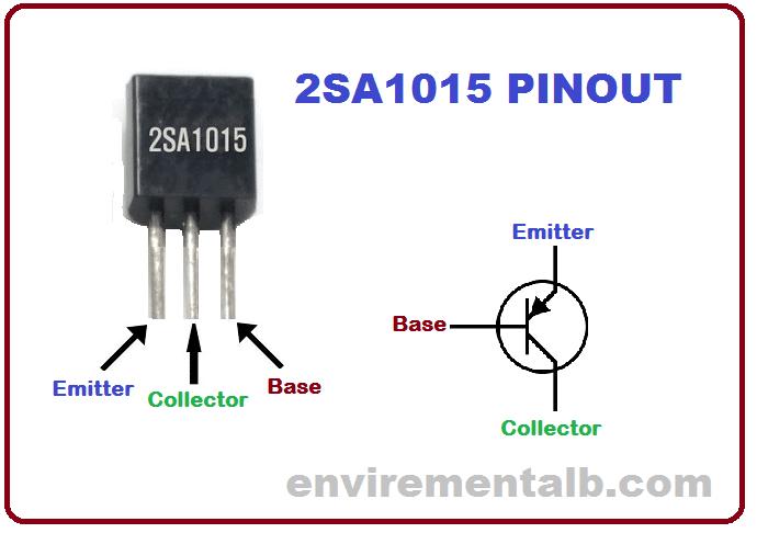2sa1015 Transistor pinout