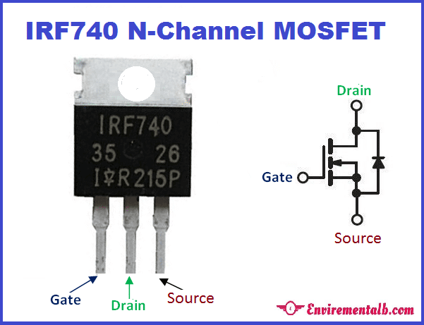 IRF740 MOSFET N-channel