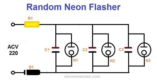 Random Neon Flasher