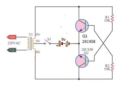 Small High Volts using 2Sc 1815 transistor
