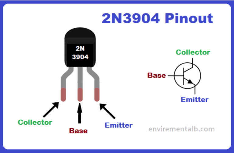 2N3904 Transistor Pinout, Features and applications