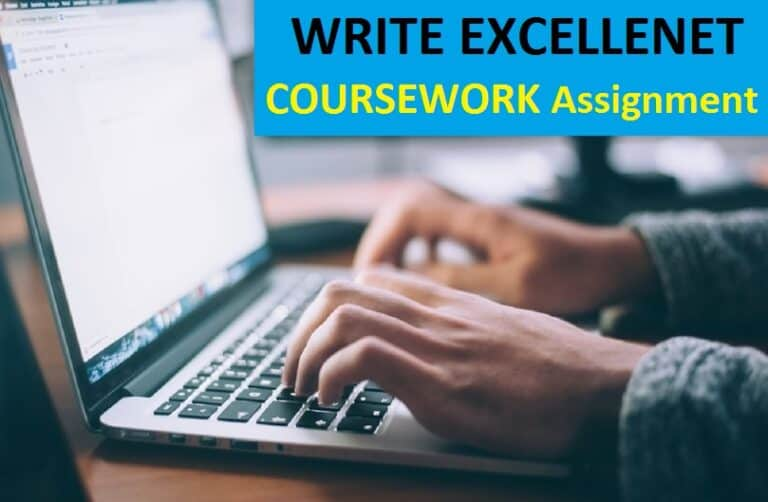 tips for writing a excellent coursework assignment